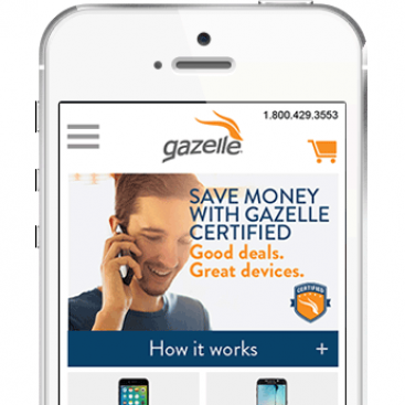 Gazelle - eCommerce mobile